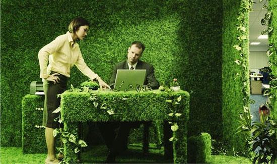 Озеленяване на офиси или как влязохме в 21 век