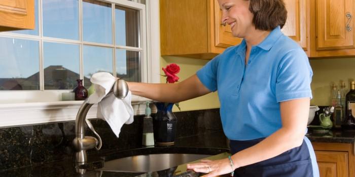 7 хитри трика за почистване на кухнята