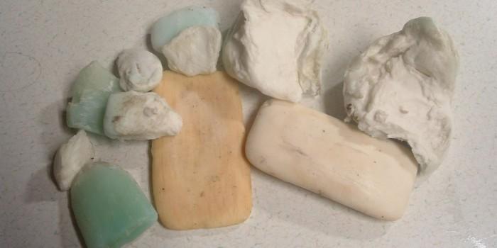 Как да рециклираме старите парченца от сапун