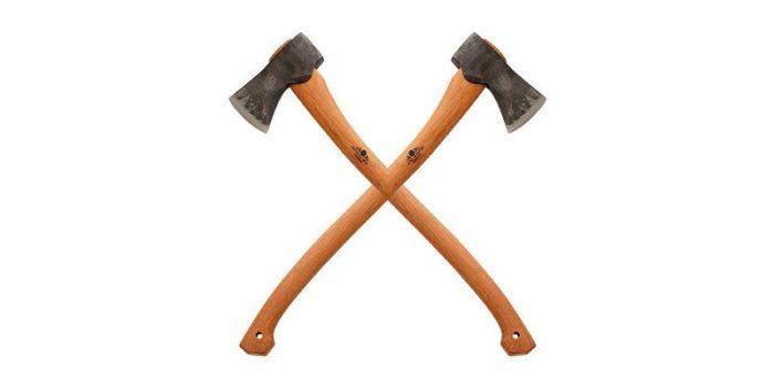 Брадва за цепене, рязане и сечене на дърва