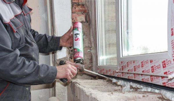 Полиуретанова пяна – най-добрият хидро и топлоизолатор