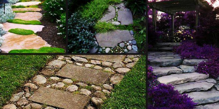 Материали, от които може да си направите пътека в двора